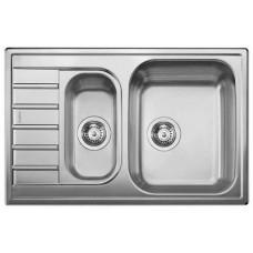 Кухонная мойка Blanco Livit 6 S Compact Нержавеющая сталь (сталь декор)