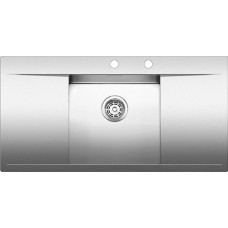 Кухонная мойка Blanco Flow 45S-If Нержавеющая сталь (сталь с зеркальной полировкой)