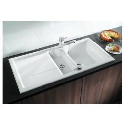 Кухонная мойка Blanco Idessa 6 S Керамика (серый алюминий)