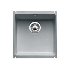 Мойка для кухни Blanco SUBLINE 375-U Сeramic серый алюминий PuraPlus с клапаном-автоматом