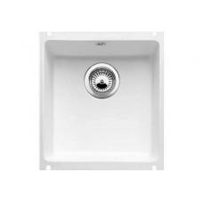 Кухонная мойка Blanco Subline 375-U Керамика PuraPlus (глянцевый белый)