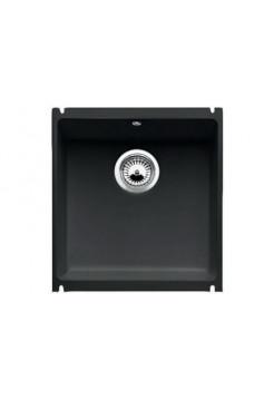 Кухонная мойка Blanco Subline 375-U Керамика PuraPlus (черный)