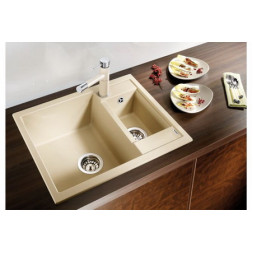 Кухонная мойка Blanco Metra 6 Silgranit PuraDur (мускат)