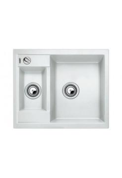 Кухонная мойка Blanco Metra 6 Silgranit PuraDur (белый)