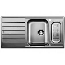 Мойка для кухни Blanco LIVIT 6 S Centric нерж. сталь полированная акс.нерж. сталь с клапаном-автоматом