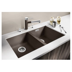 Кухонная мойка Blanco Subline 350/350-U Silgranit PuraDur (белый)