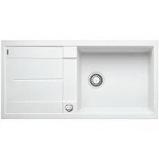 Мойка для кухни Blanco METRA XL 6 S-F белый с клапаном-автоматом