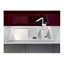 Кухонная мойка Blanco Axon Ii 6 S Керамика PuraPlus (глянцевый белый)