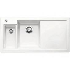 Кухонная мойка Blanco Axon Ii 6 S Керамика PuraPlus (матовый белый)