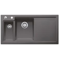 Кухонная мойка Blanco Axon Ii 6 S Керамика PuraPlus (базальт)