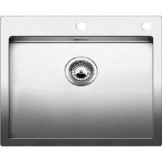 Мойка для кухни Blanco CLARON 550-IF A нерж. сталь зеркальная полировка с клапаном-автоматом