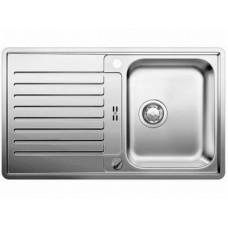 Мойка для кухни Blanco CLASSIC PRO 45 S-IF нерж.сталь зеркальная полировка с клапаном-автоматом
