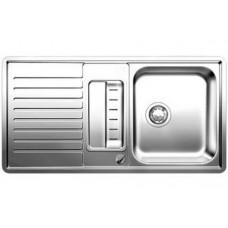 Мойка для кухни Blanco CLASSIC PRO 5 S-IF нерж.сталь зеркальная полировка с клапаном-автоматом