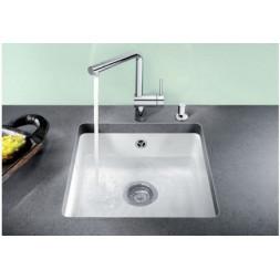 Кухонная мойка Blanco Subline 375-U Керамика PuraPlus (базальт)