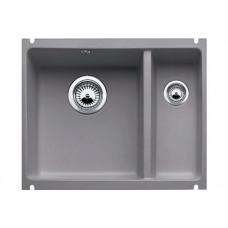 Мойка для кухни Blanco SUBLINE 350/150-U Сeramic базальт PuraPlus с клапаном-автоматом