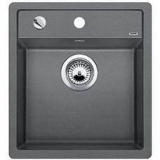 Мойка для кухни Blanco DALAGO 45 SILGRANIT алюметаллик с клапаном-автоматом