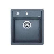 Мойка для кухни Blanco DALAGO 45-F SILGRANIT алюметаллик с клапаном-автоматом