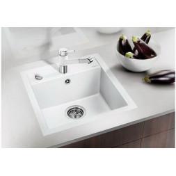 Кухонная мойка Blanco Dalago 45-F Silgranit PuraDur (белый)
