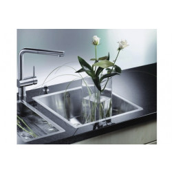 Кухонная мойка Blanco Claron 340-If Нержавеющая сталь (сталь с зеркальной полировкой)