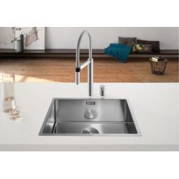 Кухонная мойка Blanco Claron 550-If Нержавеющая сталь (сталь с зеркальной полировкой)