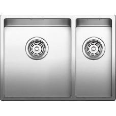 Мойка для кухни Blanco CLARON 340/180-IF (чаша слева) нерж. сталь зеркальная полировка