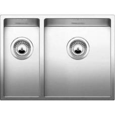 Кухонная мойка Blanco Claron 340/180-U Нержавеющая сталь (сталь с зеркальной полировкой)
