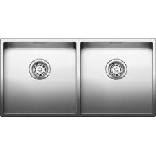 Мойка для кухни Blanco CLARON 400/400-IF нерж. сталь зеркальная полировка