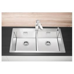 Кухонная мойка Blanco Claron 400/400-If Нержавеющая сталь (сталь с зеркальной полировкой)