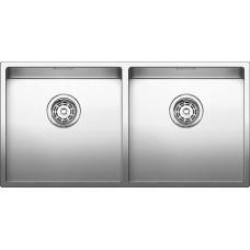 Кухонная мойка Blanco Claron 400/400-U Нержавеющая сталь (сталь с зеркальной полировкой)