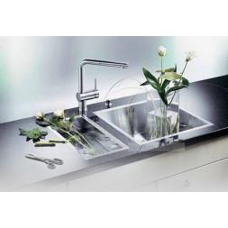 Кухонная мойка Blanco Zerox 180-If Нержавеющая сталь (сталь с зеркальной полировкой)