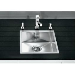Кухонная мойка Blanco Zerox 340-If Нержавеющая сталь (сталь с зеркальной полировкой)