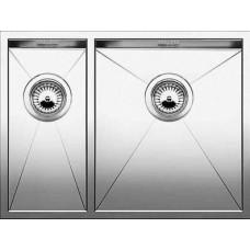 Кухонная мойка Blanco Zerox 340/180-U Нержавеющая сталь (сталь с зеркальной полировкой)