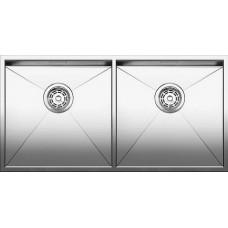 Кухонная мойка Blanco Zerox 400/400-If Нержавеющая сталь (сталь с зеркальной полировкой)