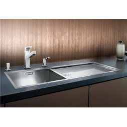 Кухонная мойка Blanco Zerox 400/550-Т-If Нержавеющая сталь (сталь с зеркальной полировкой)