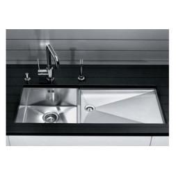 Кухонная мойка Blanco Zerox 400/550-Т-U Нержавеющая сталь (сталь с зеркальной полировкой)