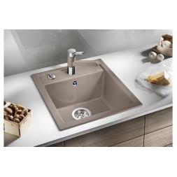Кухонная мойка Blanco Dalago 45 Silgranit PuraDur (серый беж)