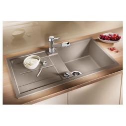 Кухонная мойка Blanco Metra 5 S Silgranit PuraDur (серый беж)