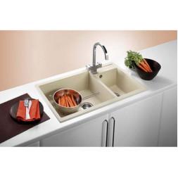 Кухонная мойка Blanco Metra 9 Silgranit PuraDur (серый беж)