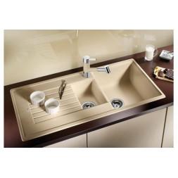 Кухонная мойка Blanco Zia 6 S Silgranit PuraDur (серый беж)