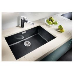 Кухонная мойка Blanco Subline 700-U Silgranit PuraDur (серый беж)