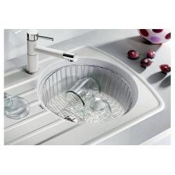 Кухонная мойка Blanco Rondoval 45S Silgranit PuraDur (серый беж)