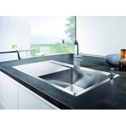 Кухонная мойка Blanco Flow-Xl 6S-If Нержавеющая сталь (сталь с зеркальной полировкой)