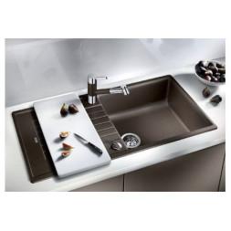 Кухонная мойка Blanco Zia Xl 6 S Silgranit PuraDur (серый беж)