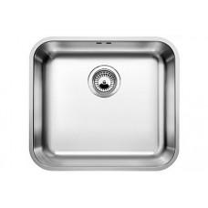Мойка для кухни Blanco SUPRA 450-U нерж.сталь полированнаяс клапаном-автоматом
