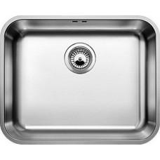 Мойка для кухни Blanco SUPRA 500-U нерж.сталь полированная с корзинчатым-вентилем