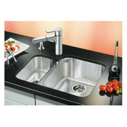 Кухонная мойка Blanco Ypsilon 550-U Нержавеющая сталь (сталь полированная)