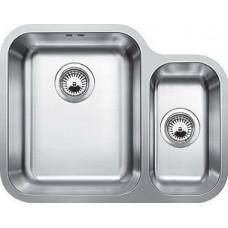 Мойка для кухни Blanco YPSILON 550-U нерж.сталь полированная с клапаном-автоматом левая