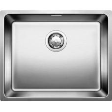 Мойка для кухни Blanco ANDANO 500-IF нерж.сталь зеркальная полировка без клапана-автомата
