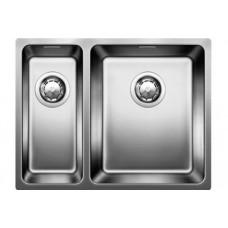 Мойка для кухни Blanco ANDANO 340/180-U нерж.сталь зеркальная полировка без клапана-автомата, правая