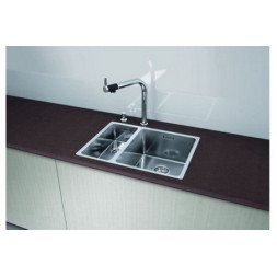 Кухонная мойка Blanco Andano 340/180-If Нержавеющая сталь (сталь с зеркальной полировкой)